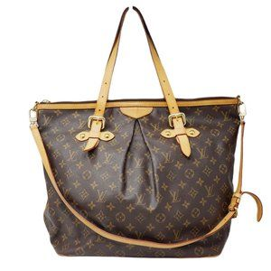 💯 Auth Louis Vuitton Monogram Palermo GM Tote Bag